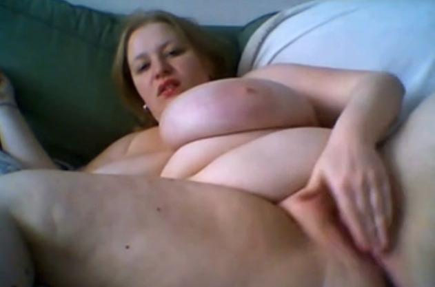 BBW with Humongous Tits on Cam