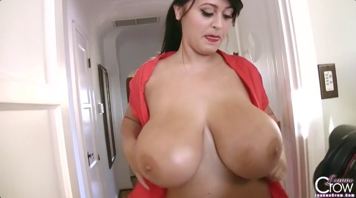Leanne Crow's Huge Tits